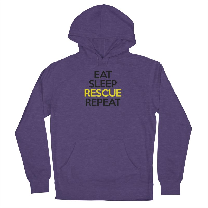 Rescue Life Women's French Terry Pullover Hoody by Peepal Farm's Shop