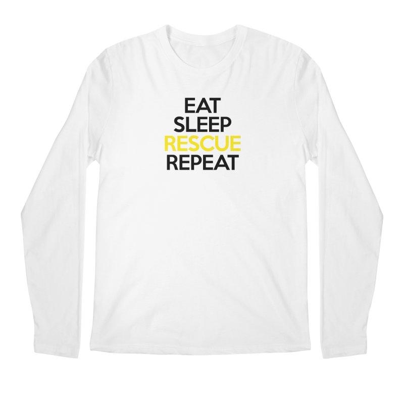 Rescue Life Men's Regular Longsleeve T-Shirt by Peepal Farm's Shop