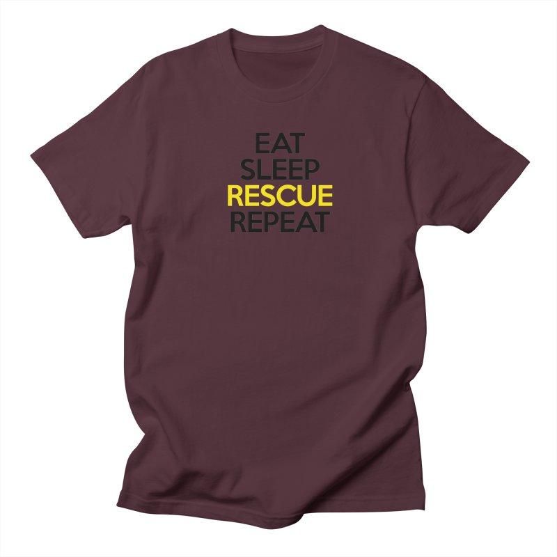 Rescue Life Men's Regular T-Shirt by Peepal Farm's Shop
