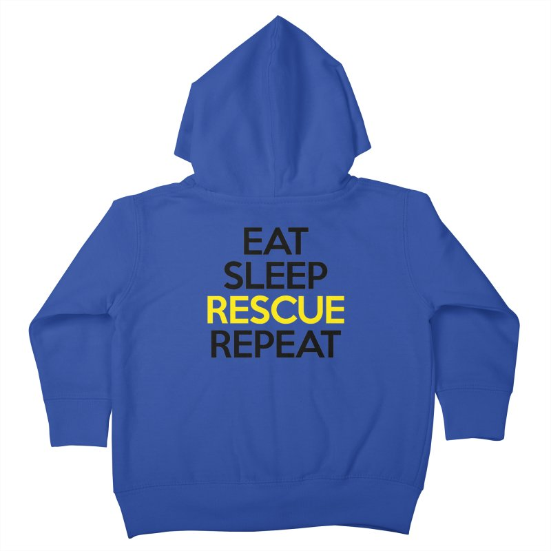 Rescue Life Kids Toddler Zip-Up Hoody by Peepal Farm's Shop