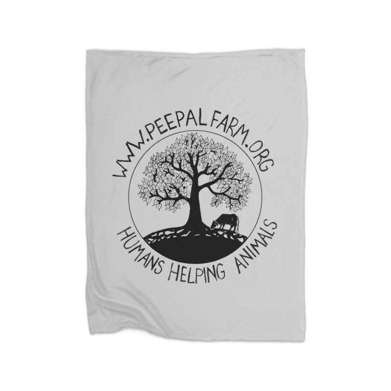 Peepal Farm Home Fleece Blanket Blanket by Peepal Farm's Shop