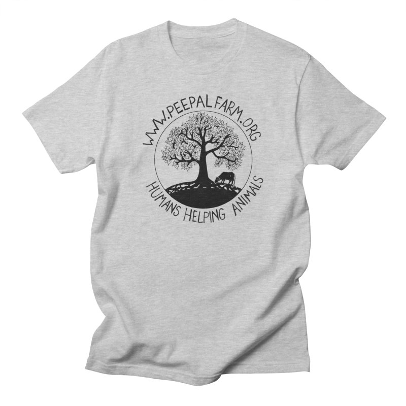 Peepal Farm in Men's Regular T-Shirt Heather Grey by Peepal Farm's Shop
