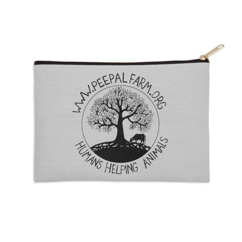 Peepal Farm Accessories Zip Pouch by Peepal Farm's Shop