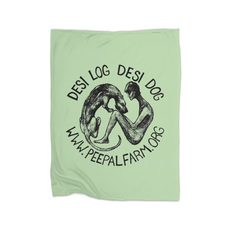 Adopt Desi Home Blanket by Peepal Farm's Shop