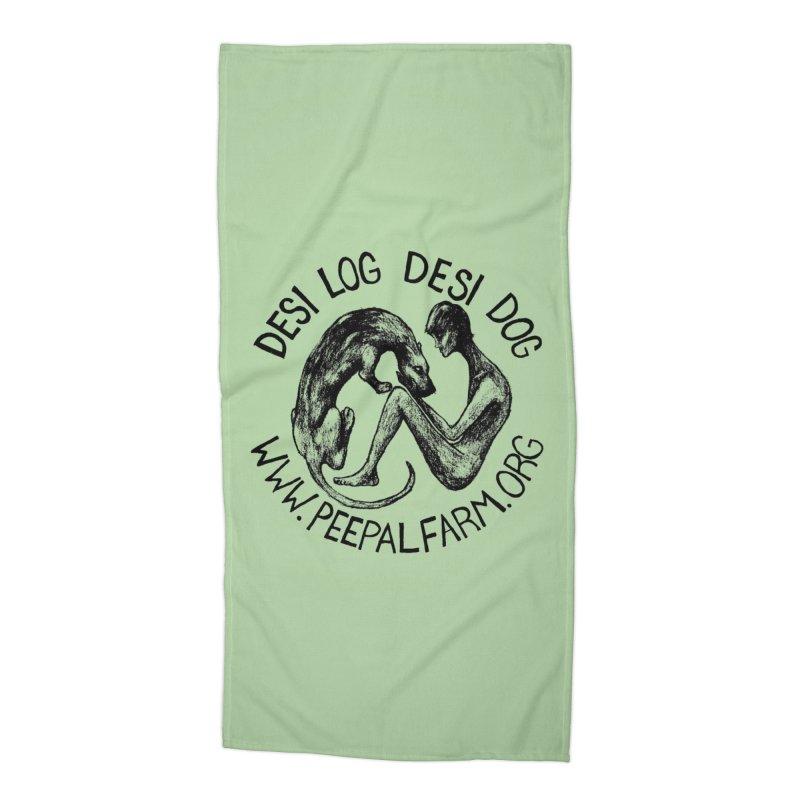 Adopt Desi Accessories Beach Towel by Peepal Farm's Shop