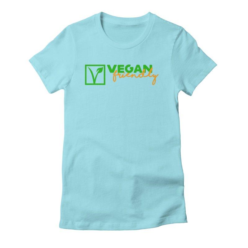 Vegan Friendly Women's Fitted T-Shirt by Peepal Farm's Shop