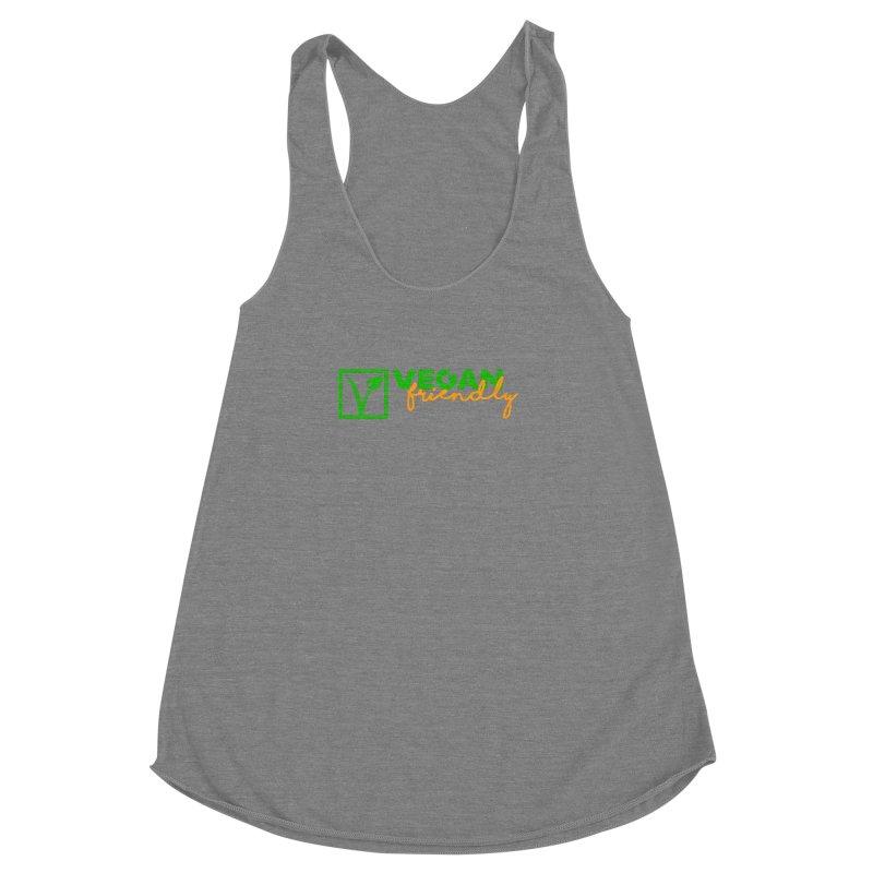 Vegan Friendly Women's Racerback Triblend Tank by Peepal Farm's Shop