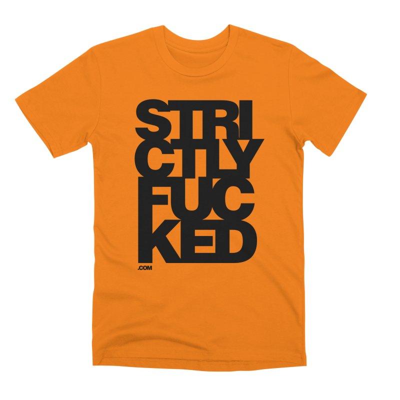 SFCKD No. 1 BLCK Men's T-Shirt by Peer Kriesel's Artist Shop