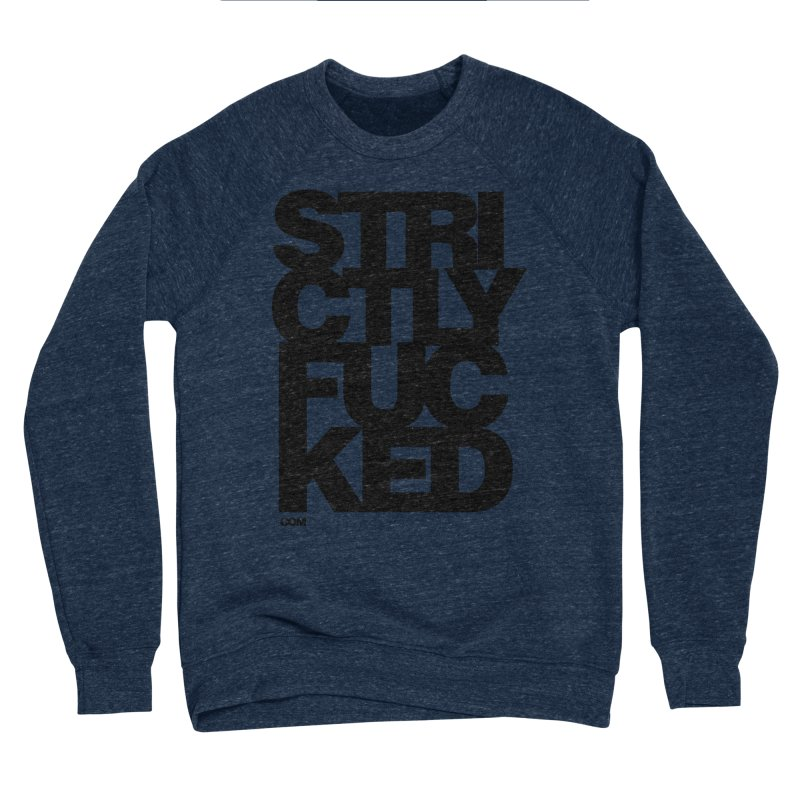 SFCKD No. 1 BLCK Men's Sponge Fleece Sweatshirt by Peer Kriesel's Artist Shop