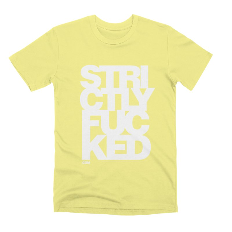 SFCKD No. 1 WHT Men's Premium T-Shirt by Peer Kriesel's Artist Shop