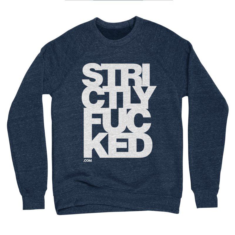 SFCKD No. 1 WHT Women's Sponge Fleece Sweatshirt by Peer Kriesel's Artist Shop