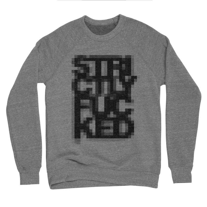SFCKD No. 1 BLCK pxl Men's Sponge Fleece Sweatshirt by Peer Kriesel's Artist Shop