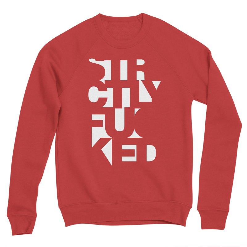 SFCKD INV WHT Women's Sponge Fleece Sweatshirt by Peer Kriesel's Artist Shop