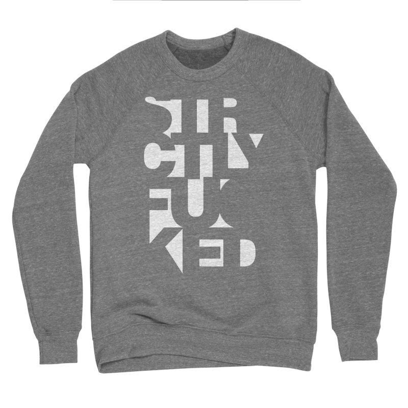 SFCKD INV WHT Men's Sponge Fleece Sweatshirt by Peer Kriesel's Artist Shop