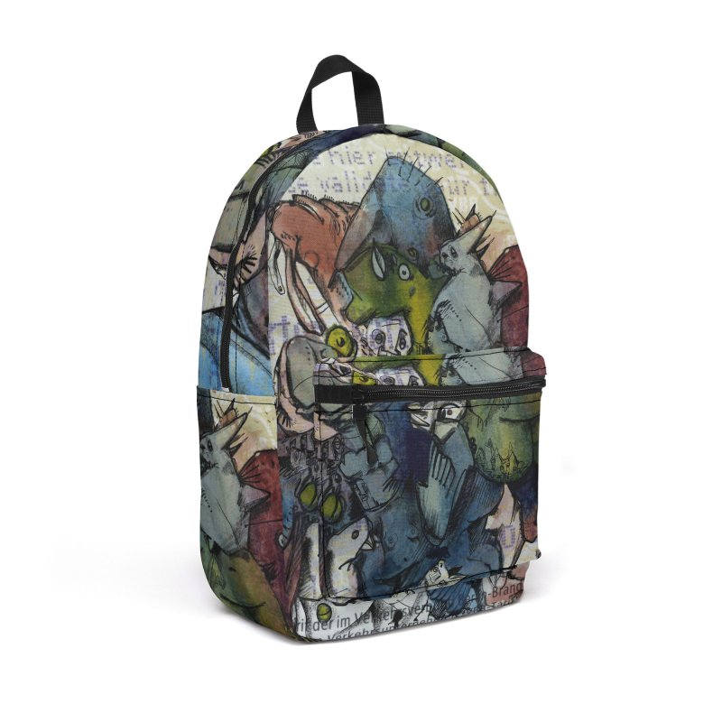 Fahrkarte Berlin #001 Accessories Backpack Bag by Peer Kriesel's Artist Shop