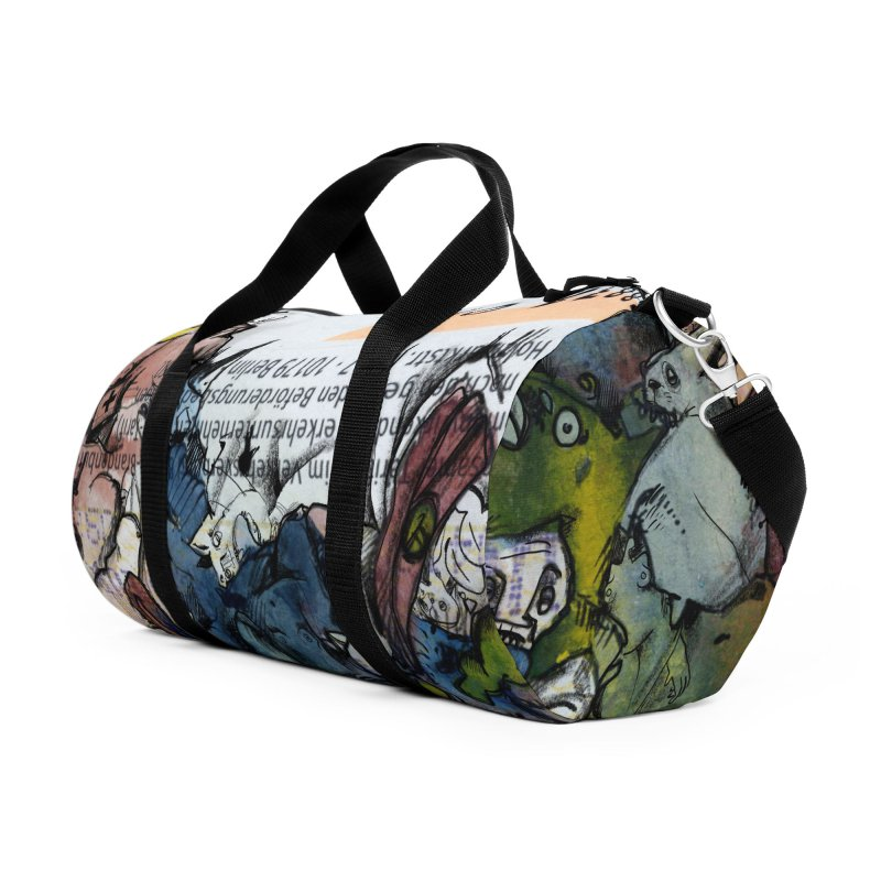 Fahrkarte Berlin #001 Accessories Duffel Bag Bag by Peer Kriesel's Artist Shop