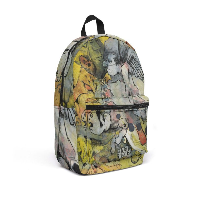 Fahrkarte Berlin #002 Accessories Backpack Bag by Peer Kriesel's Artist Shop