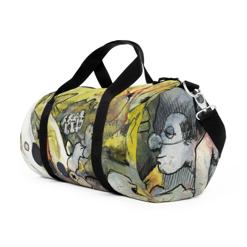 Fahrkarte Berlin #002 Accessories Duffel Bag Bag by Peer Kriesel's Artist Shop