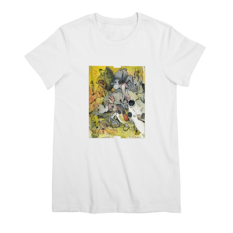 Fahrkarte Berlin #002 Women's Premium T-Shirt by Peer Kriesel's Artist Shop