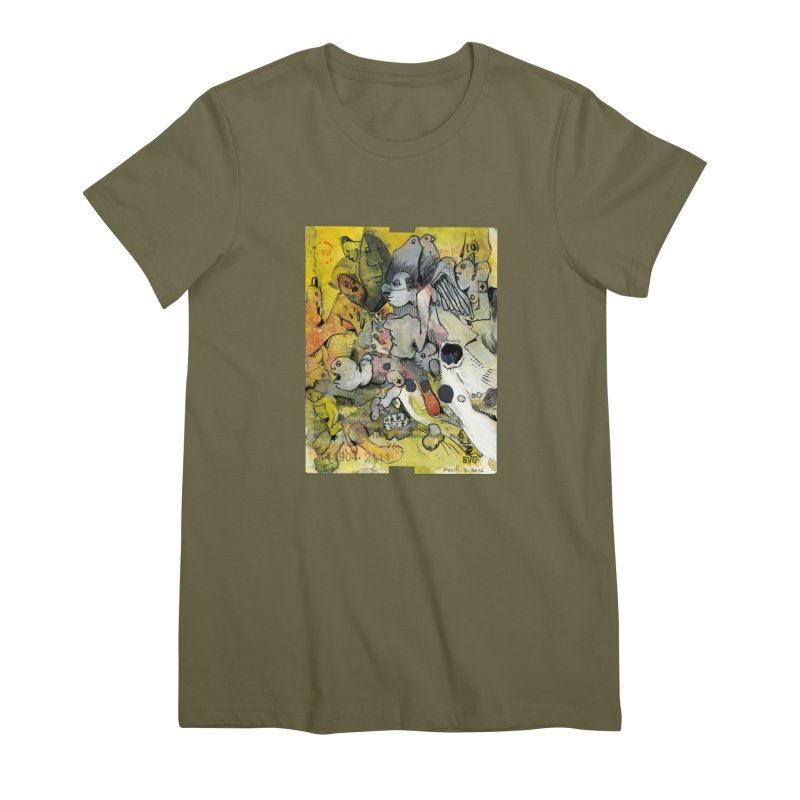 Fahrkarte Berlin #002 Women's Premium T-Shirt by Peer Kriesel's Artist Shop