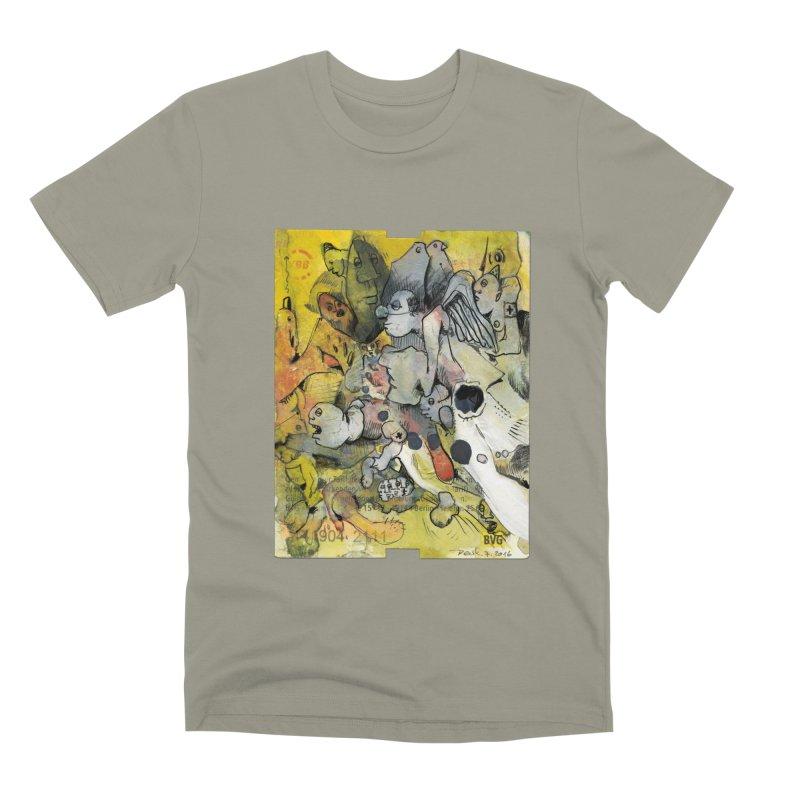 Fahrkarte Berlin #002 Men's Premium T-Shirt by Peer Kriesel's Artist Shop