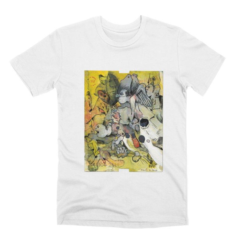 Fahrkarte Berlin #002 Men's T-Shirt by Peer Kriesel's Artist Shop