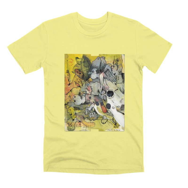 Fahrkarte Berlin #002 Men's Premium T-Shirt by Peer Kriesel's Artist Shop