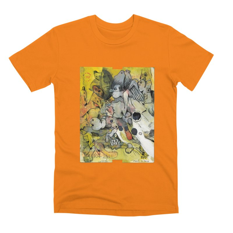 Fahrkarte Berlin #002 Men's T-Shirt by Peer Kriesel's Artist Shop