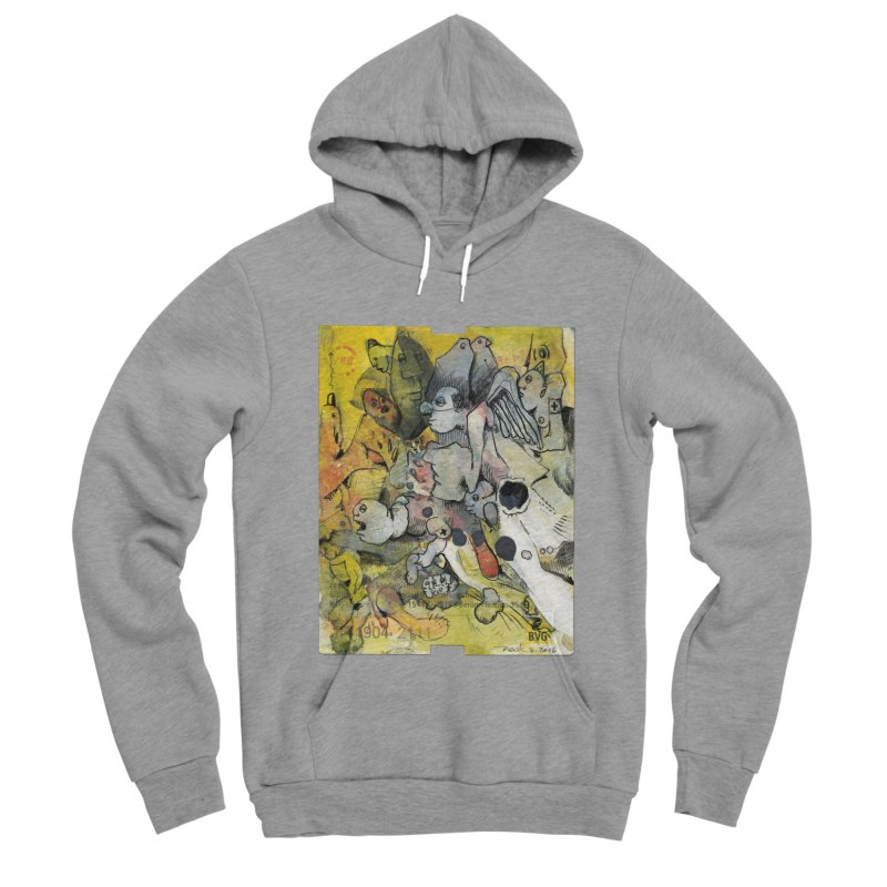 Fahrkarte Berlin #002 Men's Sponge Fleece Pullover Hoody by Peer Kriesel's Artist Shop