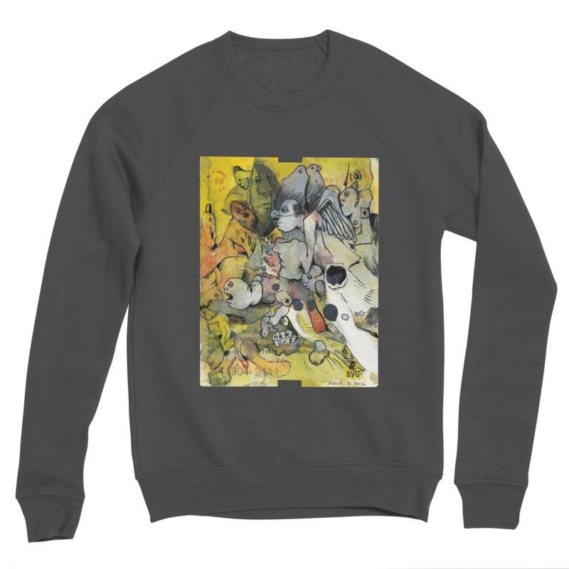 Fahrkarte Berlin #002 Men's Sponge Fleece Sweatshirt by Peer Kriesel's Artist Shop