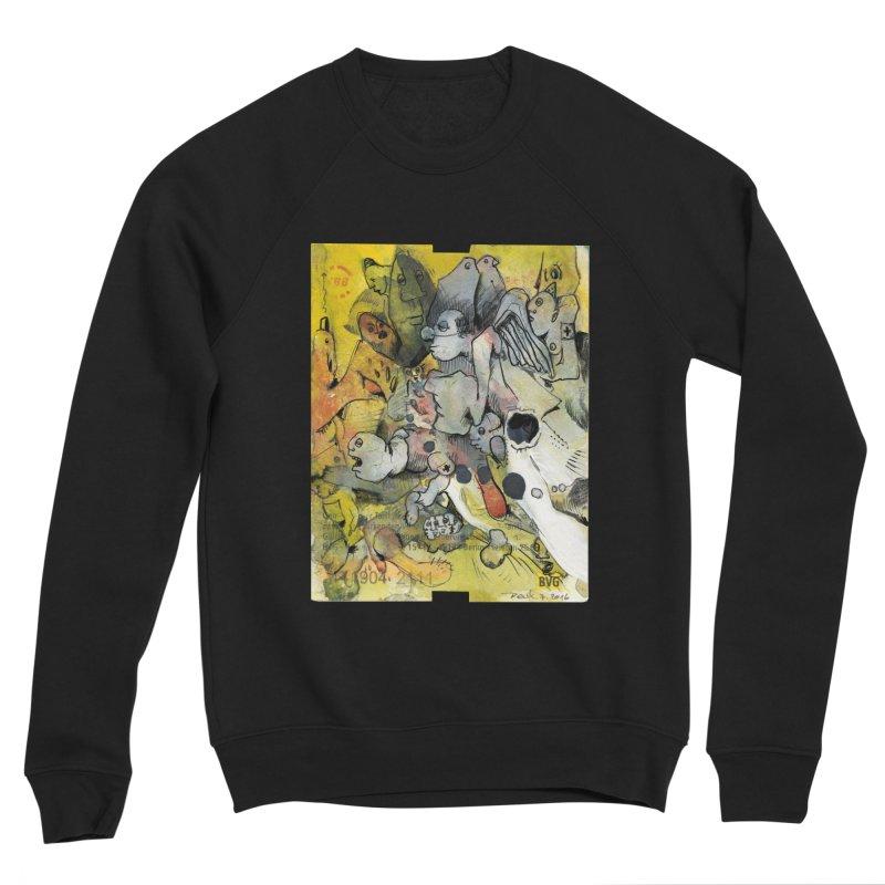 Fahrkarte Berlin #002 Women's Sponge Fleece Sweatshirt by Peer Kriesel's Artist Shop