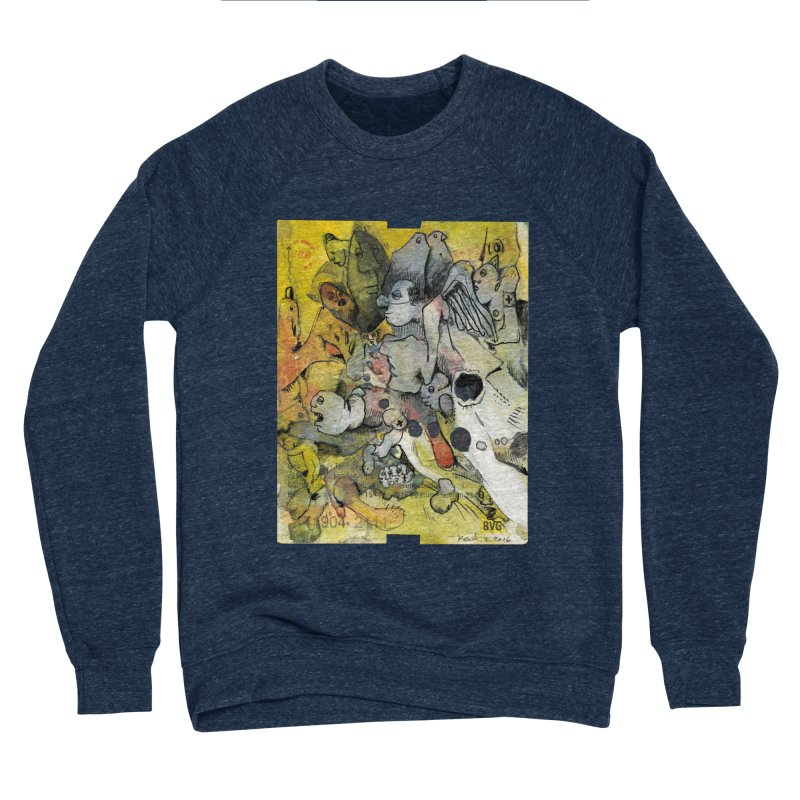 Fahrkarte Berlin #002 Men's Sponge Fleece Sweatshirt by Peer Kriesel's Artist Shop