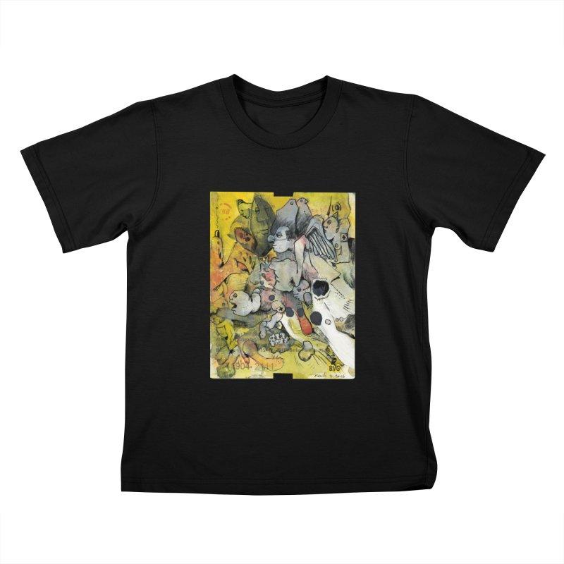 Fahrkarte Berlin #002 Kids T-Shirt by Peer Kriesel's Artist Shop