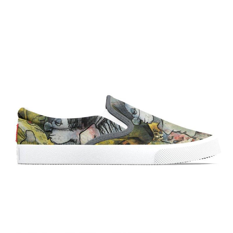 Fahrkarte Berlin #002 Men's Shoes by Peer Kriesel's Artist Shop