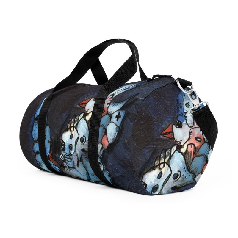 Fahrkarte Berlin #003 Accessories Duffel Bag Bag by Peer Kriesel's Artist Shop