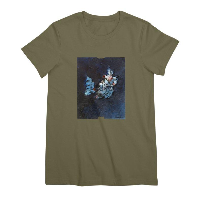 Fahrkarte Berlin #003 Women's Premium T-Shirt by Peer Kriesel's Artist Shop