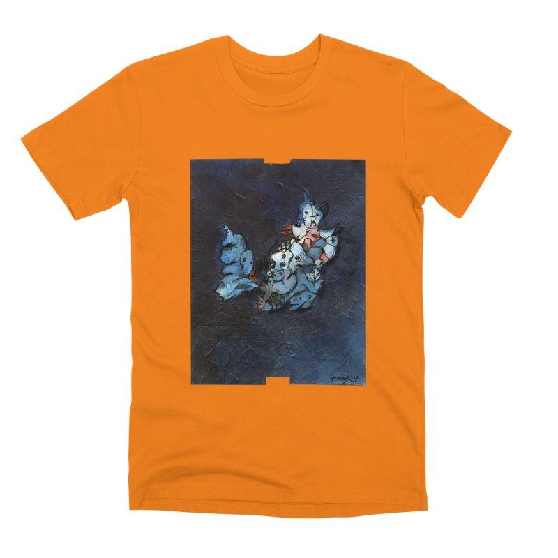 Fahrkarte Berlin #003 Men's Premium T-Shirt by Peer Kriesel's Artist Shop