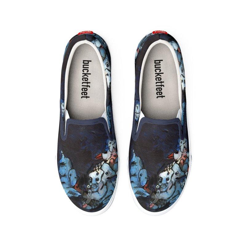 Fahrkarte Berlin #003 Men's Shoes by Peer Kriesel's Artist Shop