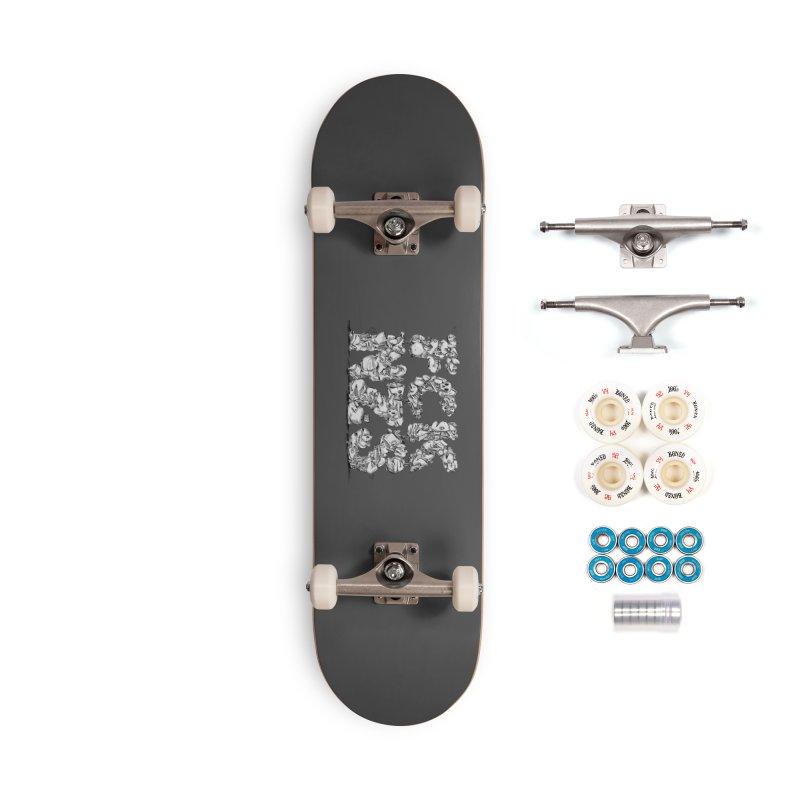 FCK NZS Accessories Complete - Premium Skateboard by Peer Kriesel's Artist Shop