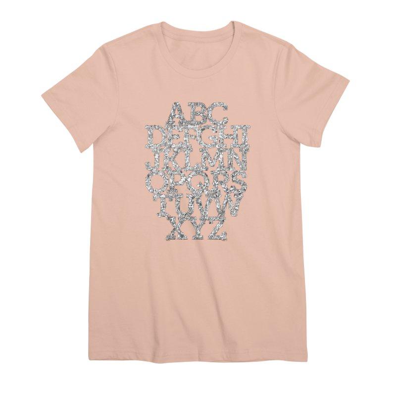 FRTZNAlphabet Women's Premium T-Shirt by Peer Kriesel's Artist Shop