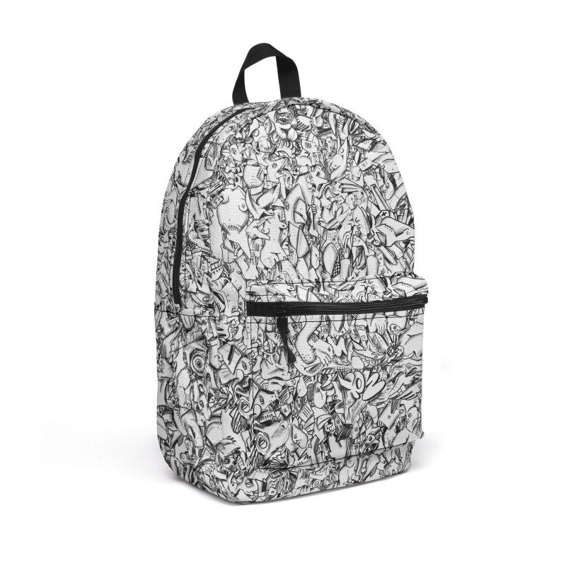 FRTZN Infinite Accessories Backpack Bag by Peer Kriesel's Artist Shop