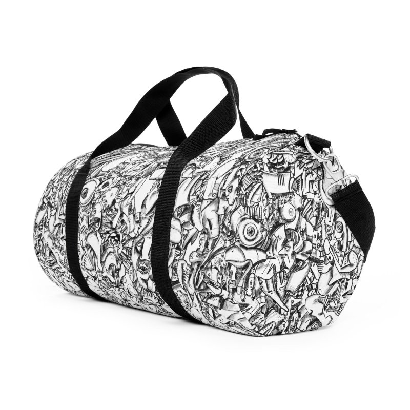 FRTZN Infinite Accessories Duffel Bag Bag by Peer Kriesel's Artist Shop