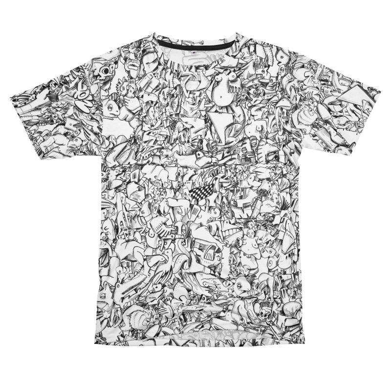 FRTZN Infinite Men's T-Shirt Cut & Sew by Peer Kriesel's Artist Shop