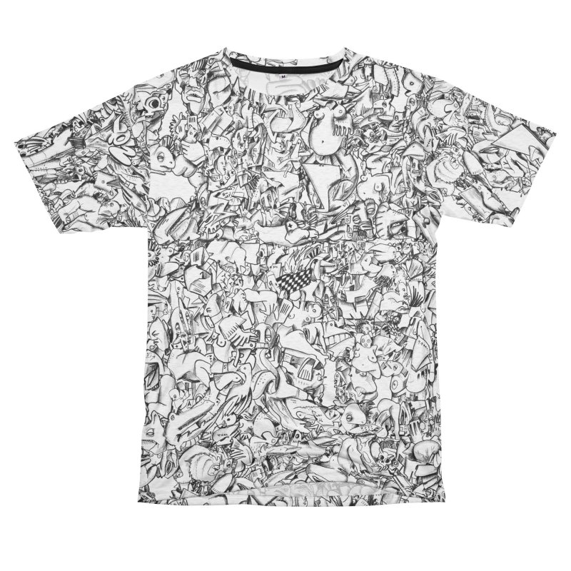FRTZN Infinite Women's Unisex French Terry T-Shirt Cut & Sew by Peer Kriesel's Artist Shop
