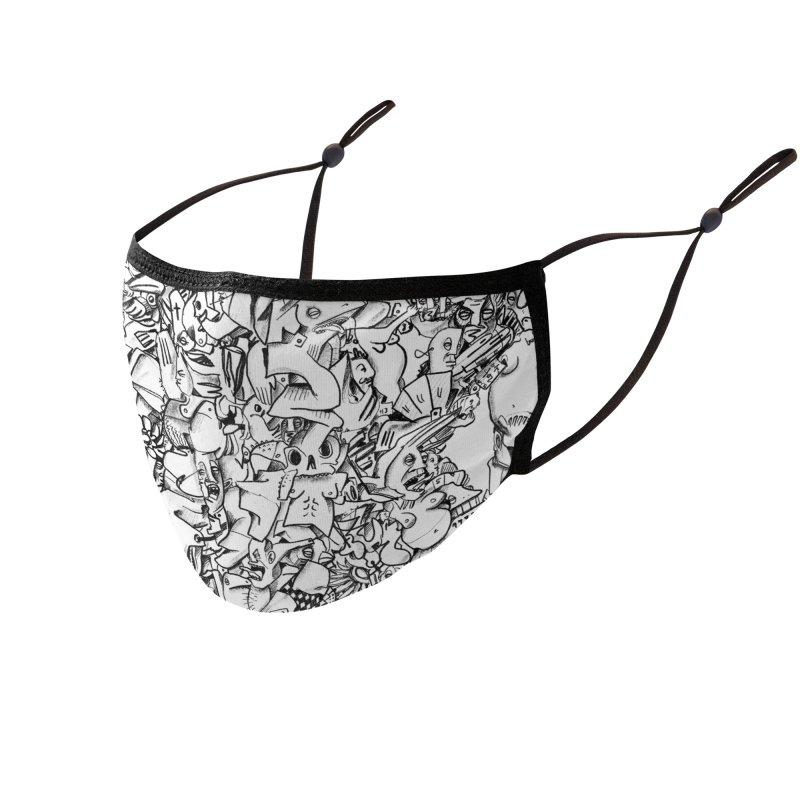 FRTZN Infinite Accessories Face Mask by Peer Kriesel's Artist Shop