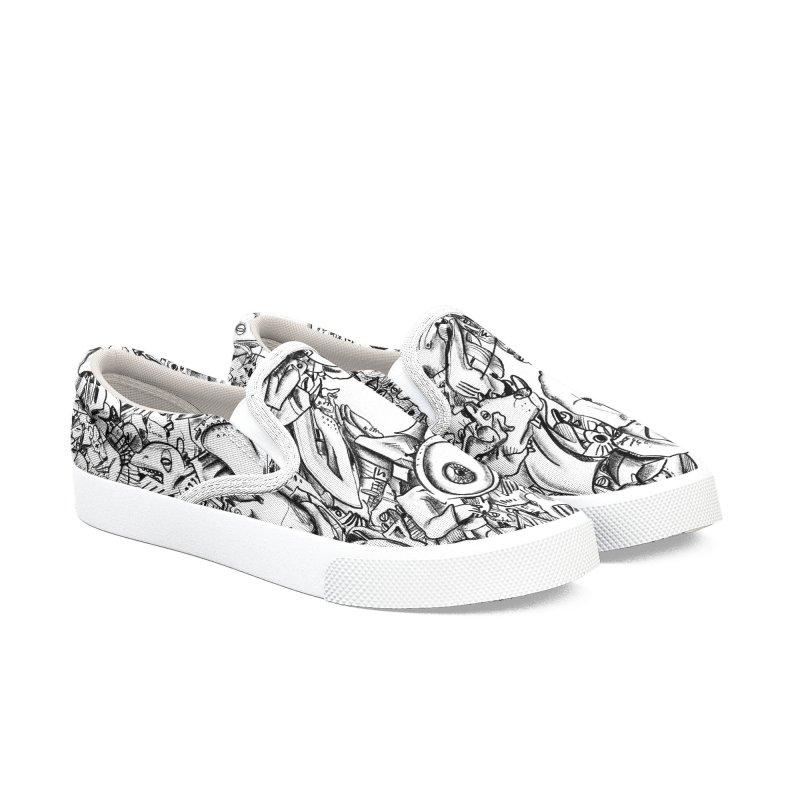 FRTZN Infinite Women's Slip-On Shoes by Peer Kriesel's Artist Shop