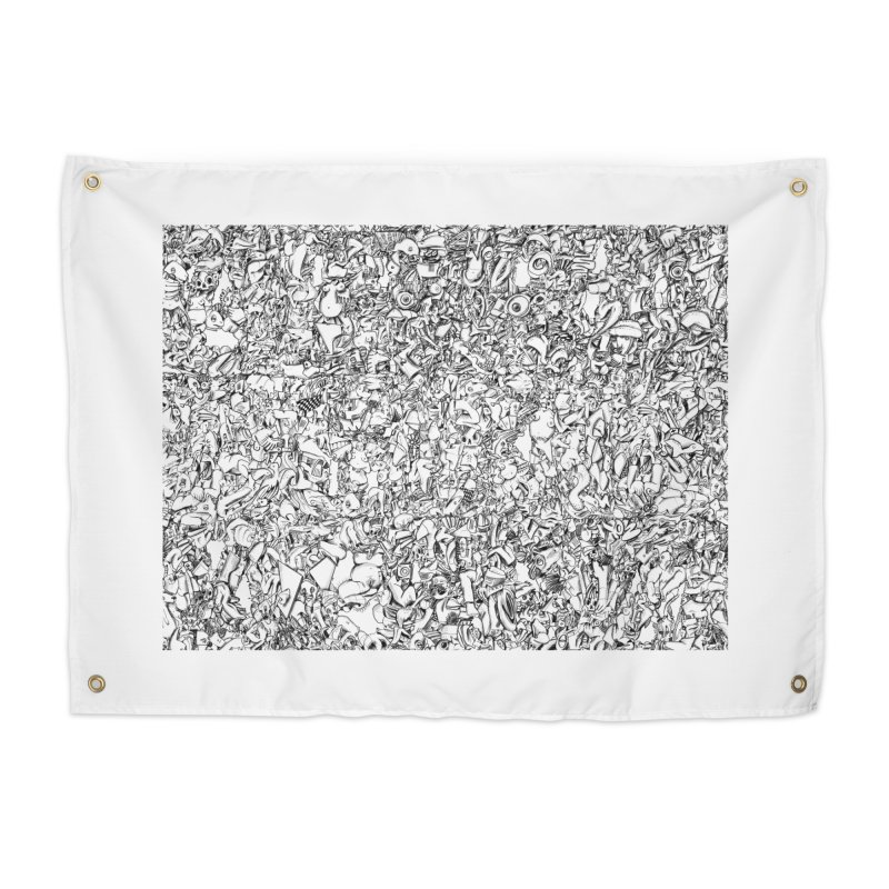 FRTZN Infinite Home Tapestry by Peer Kriesel's Artist Shop