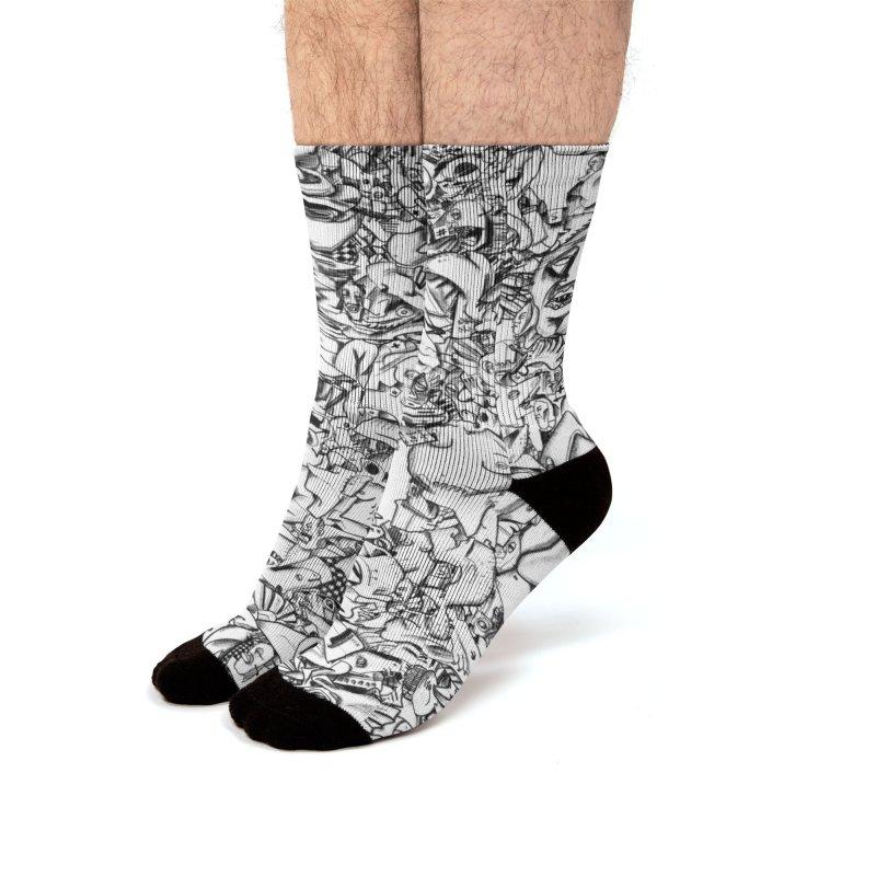 FRTZN Infinite Men's Socks by Peer Kriesel's Artist Shop