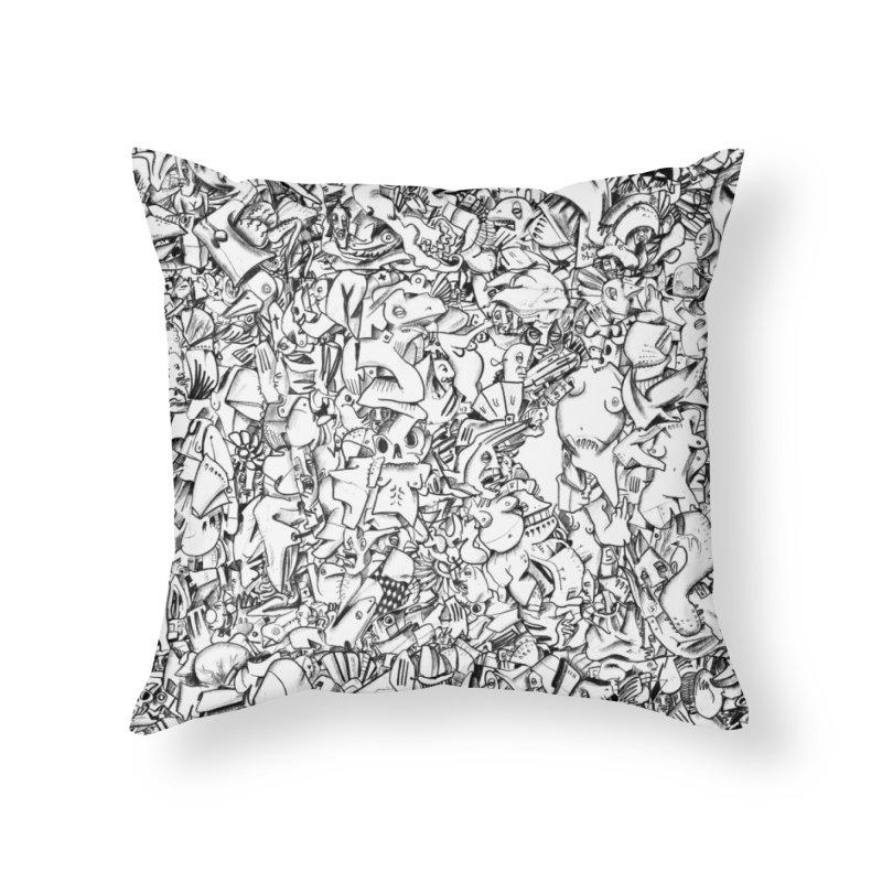 FRTZN Infinite Home Throw Pillow by Peer Kriesel's Artist Shop