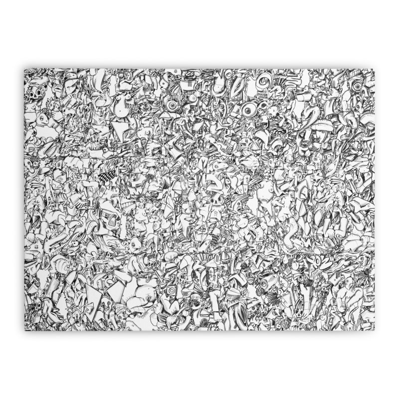 FRTZN Infinite Home Stretched Canvas by Peer Kriesel's Artist Shop